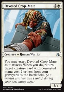 Devoted Crop-Mate (Amonkhet)
