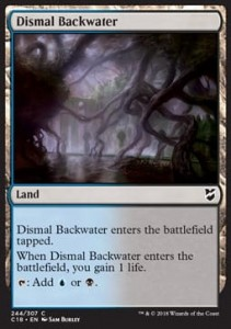 Dismal Backwater (Commander 2018)