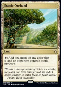 Exotic Orchard (Commander 2019)