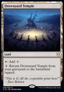 Drownyard Temple (Commander 2019)