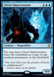 Clever Impersonator (Commander 2019)