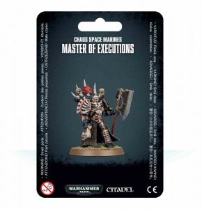 Chaos Space Marines - Master of Executions - WH 40K