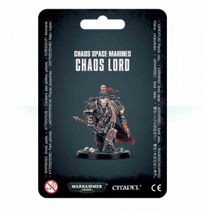 Chaos Space Marines - Chaos Lord - WH 40K