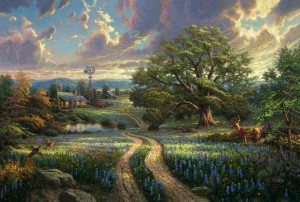 Thomas Kinkade - Country Living - Puzzle 1000