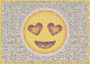 Emoticon - Puzzle 1000 + GRATIS