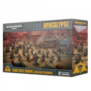 Apocalypse - Chaos Space Marines Battalion Detachment - WH 40K