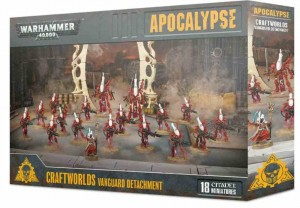 Apocalypse - Craftworlds Vanguard Detachment - WH 40K