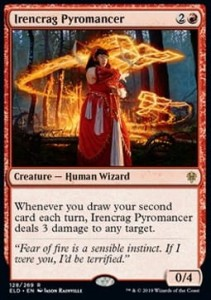 Irencrag Pyromancer (Throne of Eldraine)