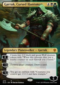 Garruk, Cursed Huntsman - Alter (Throne of Eldraine)