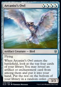 Arcanist's Owl (Throne of Eldraine)