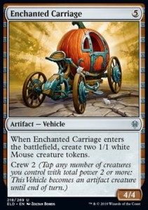 Enchanted Carriage (Throne of Eldraine)