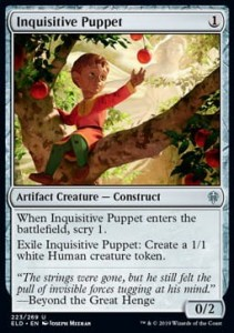 Inquisitive Puppet (Throne of Eldraine)