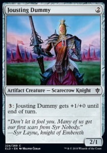 Jousting Dummy (Throne of Eldraine)