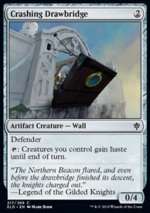 Crashing Drawbridge (Throne of Eldraine)