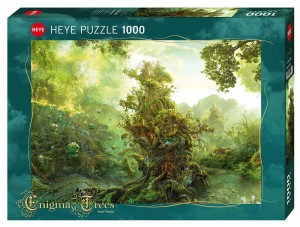 Enigma Trees - Tropical Tree - Puzzle 1000
