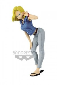 Dragon Ball Glitter & Glamours PVC Statue Android 18 II Ver. A
