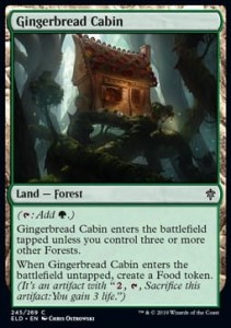 Gingerbread Cabin (Throne of Eldraine)