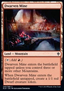 Dwarven Mine (Throne of Eldraine)