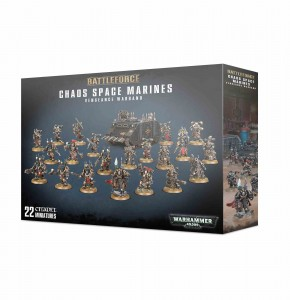 Chaos Space Marines - Vengeance Warband - WH 40K