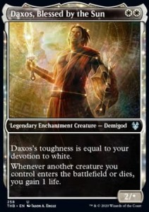 Daxos, Blessed by the Sun - Alter (Theros Beyond Death)