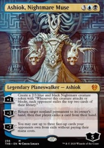 Ashiok, Nightmare Muse - Alter (Theros Beyond Death)