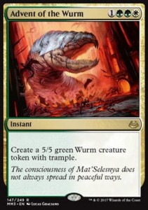 Advent of the Wurm (Modern Masters 2017)