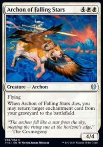Archon of Falling Stars (Theros Beyond Death)