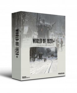 World of 1920 by Jakub Różalski - Bitwa przed Bitwą - Puzzle 1500