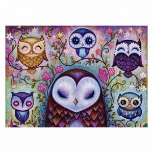 Dreaming - Great Big Owl - Puzzle 1000