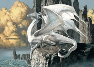 White Dragon - Puzzle 1000