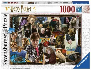 Harry Potter vs Voldemort - Puzzle 1000