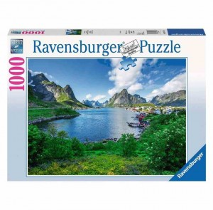 Lofoten Harbour, Norway - Puzzle 1000