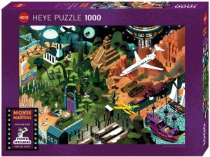 Movie Masters - Steven Spielberg Films - Puzzle 1000