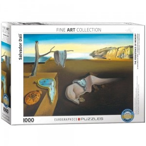Art Collection - Salvador Dali - The Persistence of Memory - Puzzle 1000