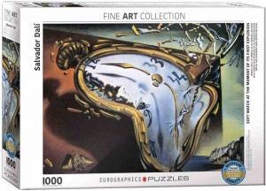 Art Collection - Salvador Dali - Soft Watch at the Moment of It's First Explosion - Puzzle 1000