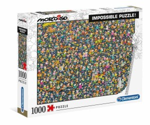 Mordillo - Impossible Puzzle! - Puzzle 1000