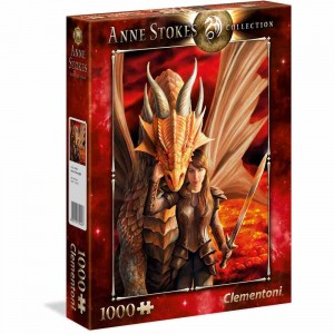 Anne Stokes - Inner Strength - Puzzle 1000