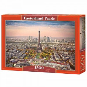 Cityscape of Paris - Puzzle 1500