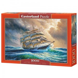 Sailing Against All Odds - Puzzle 1000