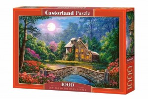 Cottage in the Moon Garden - Puzzle 1000