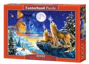 Howling Wolves - Puzzle 1000