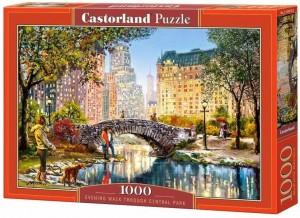 Evening Walk Through Central Park - Puzzle 1000
