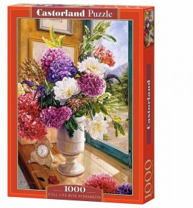 Still Life with Hydrangeas - Puzzle 1000