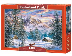 Mountain Christmas - Puzzle 1000