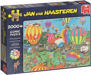 Jan Van Haasteren - The Balloon Festival - Puzzle 2000