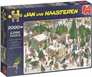 Jan Van Haasteren - Christmas Tree Market - Puzzle 2000