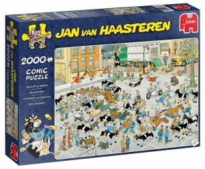 Jan Van Haasteren - The Cattle Market - Puzzle 2000