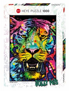 Jolly Pets - Wild Tiger - Puzzle 1000