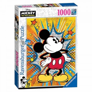 Disney - Retro Mickey - Puzzle 1000