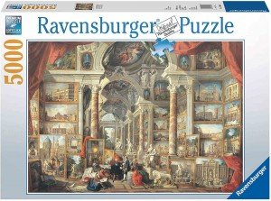 Giovanni Paolo Panini - Views of Modern Rome - Puzzle 5000